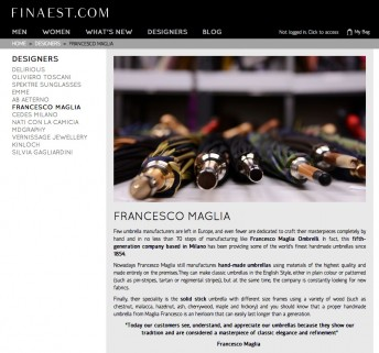 Finaest $$ https://finaest.com/designers/francesco-maglia-1854