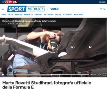 Sport Mediaset TV interview $$ https://www.sportmediaset.mediaset.it/video/e-planet/marta-rovatti-studihrad-fotografa-ufficiale-della-formula-e_14255651-2020.shtml